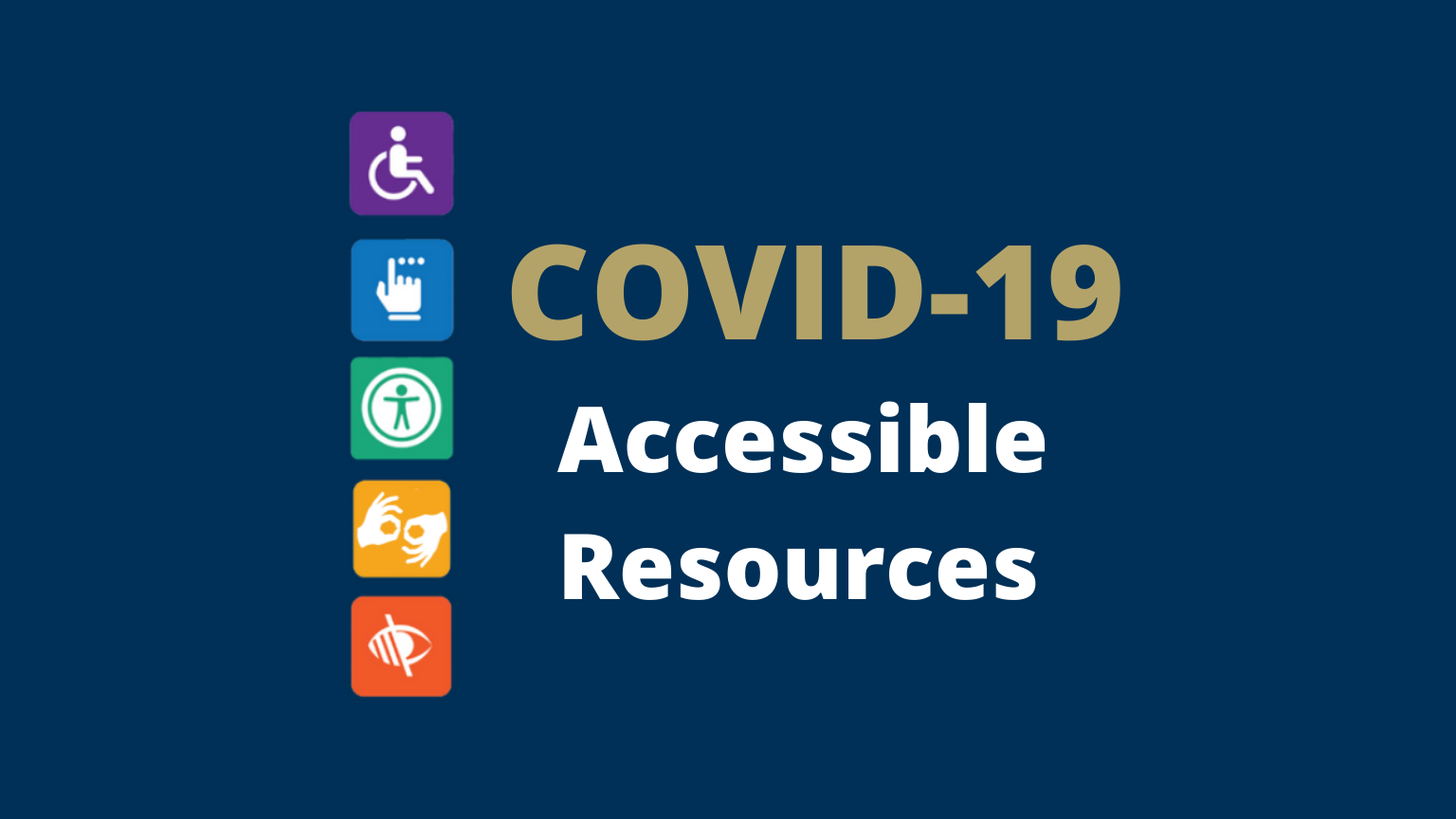 covid-19 accessible resources